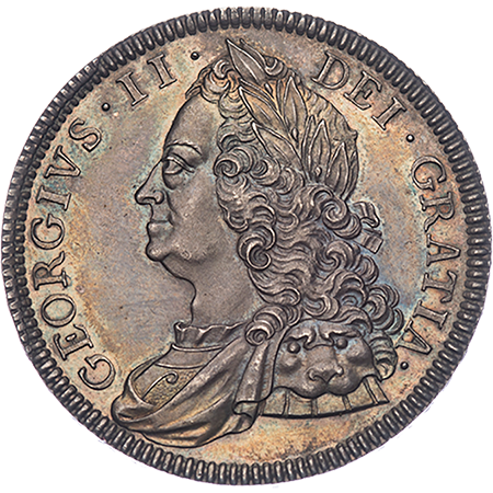 1746 Crown mint state Obverse