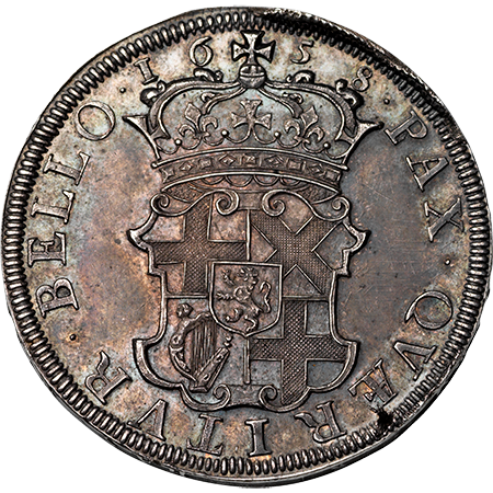 1658 Crown Virt Mint Reverse