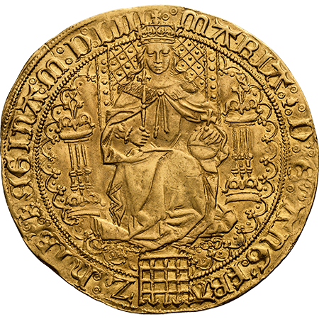 1553 Sovereign GEF Obverse