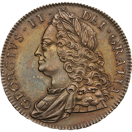 1751 Crown virt mint Obverse