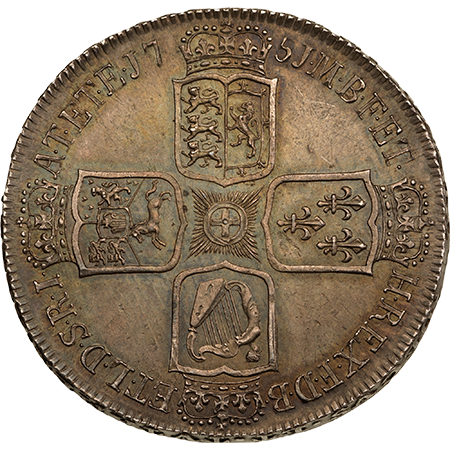 1751 Crown virt mint Reverse