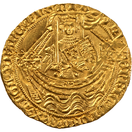1431 Noble Mint state Obverse