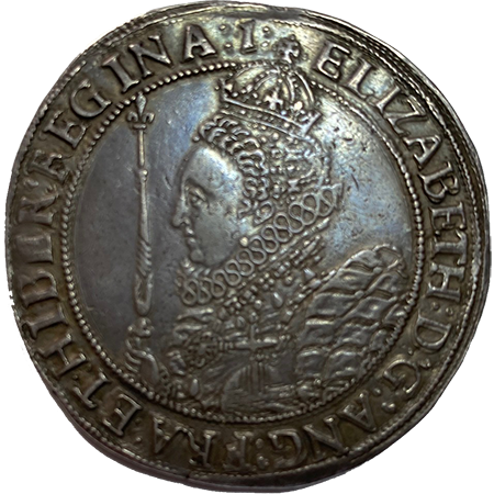 1601 Crown EF/NEF Obverse